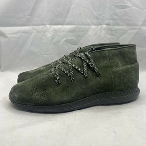 Under Armour Veloce Mid Suede 1296614-357 Olive Green Leather Men's SZ 13 US